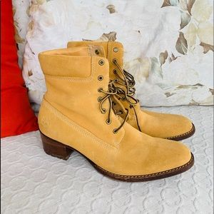Timberland Genuine Leather Ankle Boots